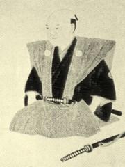 星野勘左衛門肖像(名古屋富田家蔵、現代弓道講座第1巻より)
